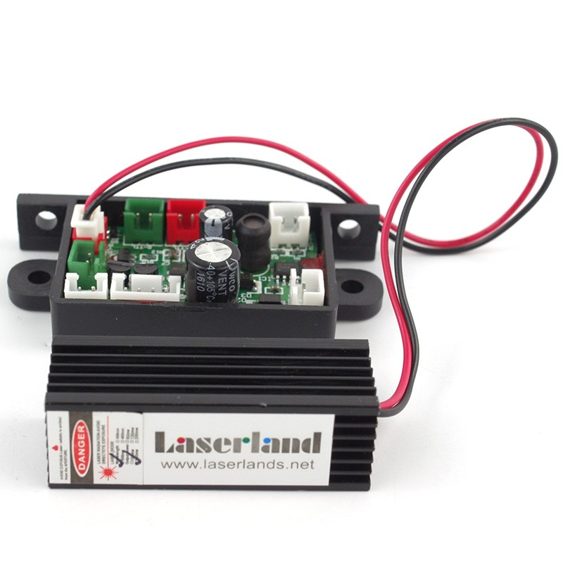 Adjusted Red Diode Lasers 650nm 50mw Focusable Laser Line Module w//Driver In /& 120 degrees Line Lens 12x45mm