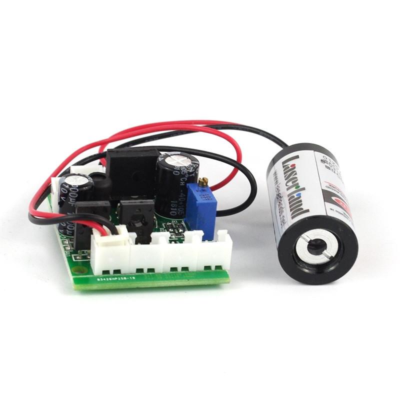 18*35mm 100mW 150mW 405nm Blue Violet Dot Laser Module 12VDC TTL Stage Lighting