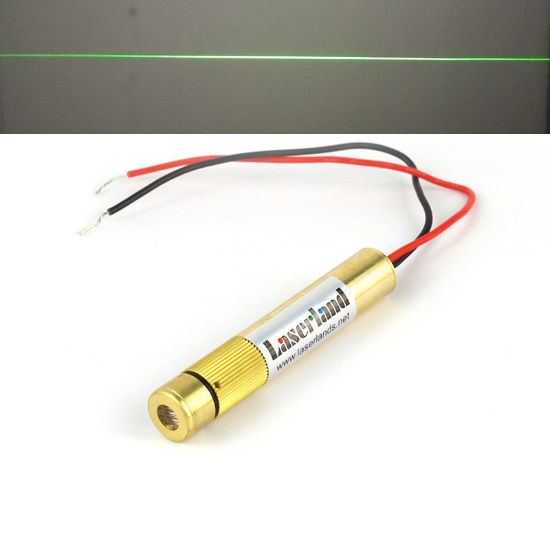 12*70mm 10mW 30mW 50mW 100mW 200mW 532nm Line Green Focusable Laser Module
