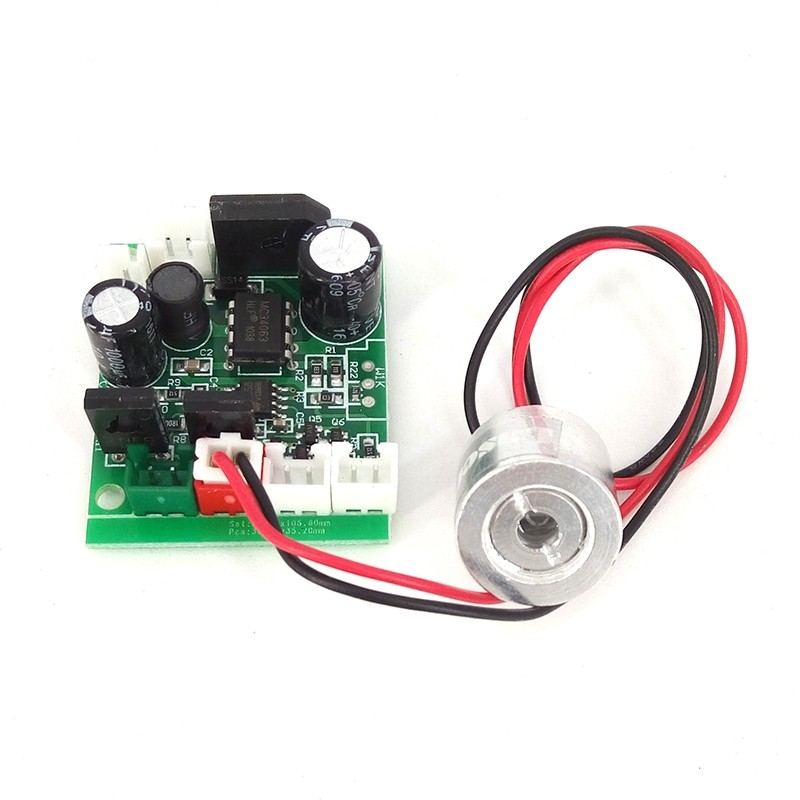 18*15mm 650nm 100mW Red Laser Diode Module with TTL 12VDC Focusable