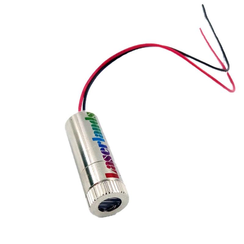 12*40mm 808nm 20mW 50mW 200mW 300mW Dot Laser Module 5VDC
