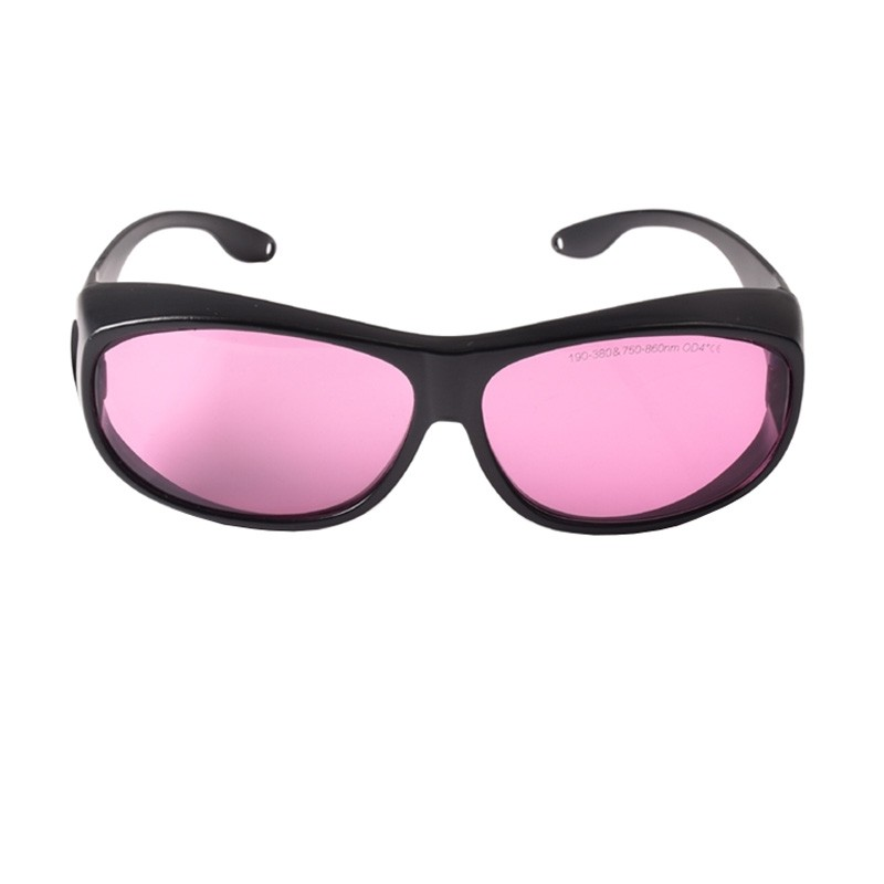 T-6 780nm-808nm-840nm OD4+ IR Infrared Laser Protective Goggles Safety Glasses CE