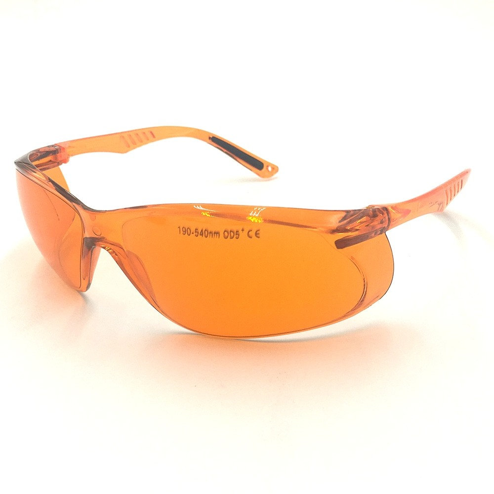 EP-3-8 190-540nm OD4+ Green Laser Protective Goggles Glasses