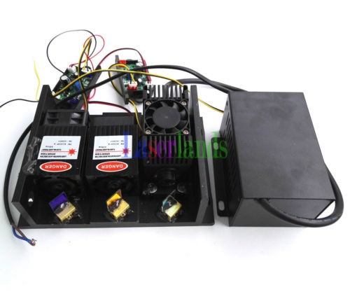 2W RGB White Laser Module Full-Color Laser Module