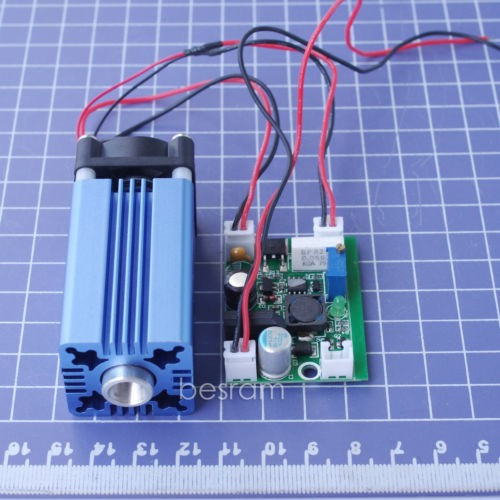 3069 800mW 450nm 445nm Blue Dot Laser Module/TTL Stage Lighting 12VDC