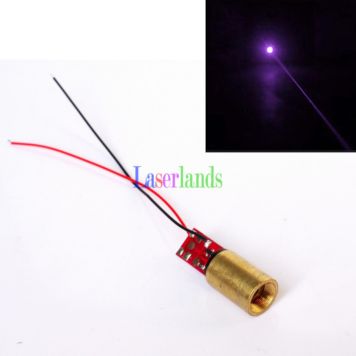 12*17mm 100mW 200mW 405nm Dot Laser Module