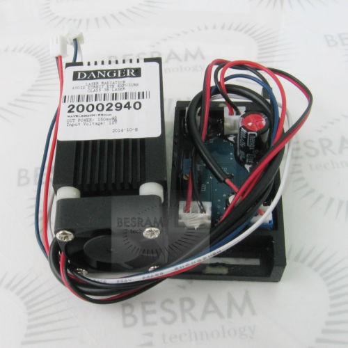 350mW Fat Beam 445nm 450nm Blue Dot Laser Module 12V w/TTL