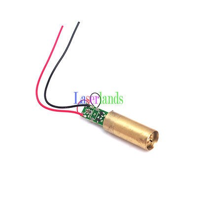 12*35mm 5mW  532nm Green DOT Laser Module APC FDA Class 3R 3VDC