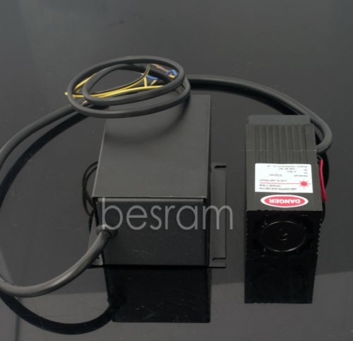 532nm 150mW-200mW Green Dot Laser Module TEC Fan TTL/Analog DPSS 220VAC