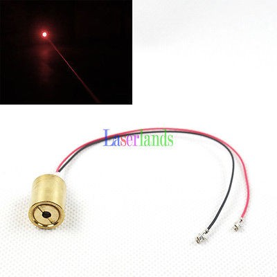 12*15mm 635nm 30mW Orange/Red Dot Laser Module no Driver