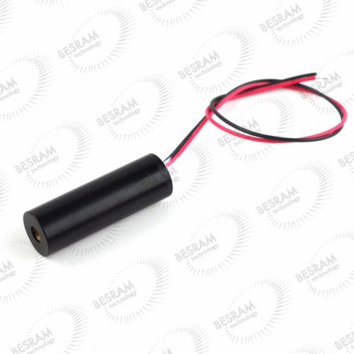 12*40mm 658nm 200mW Red Line Laser Module DC 3V~5V 88 Degree