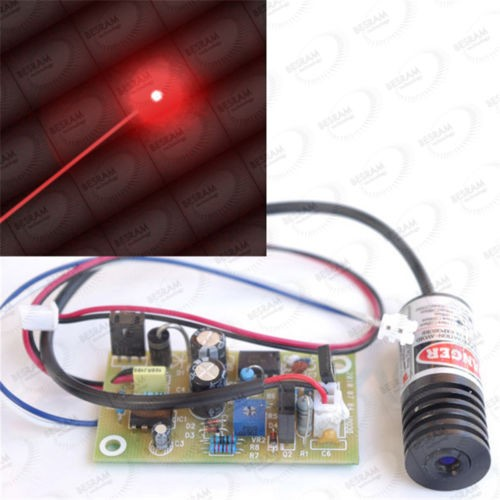 18*45mm 100mW 150mW 650nm Red Dot Focusable Laser Module with 5V TTL