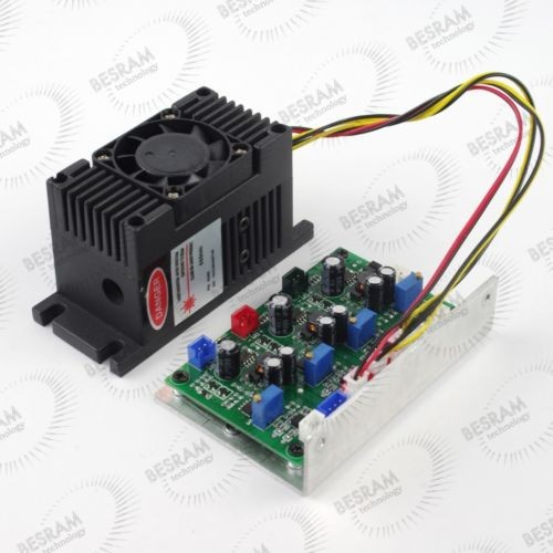 300mW 650nm Red Dot Focusable Laser Module TTL analog