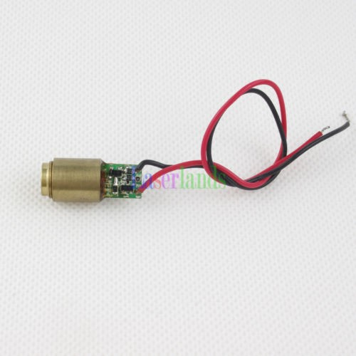 5pcs 10.5*25mm 650nm 1mW Red Dot Laser Module with Driver EU Standard