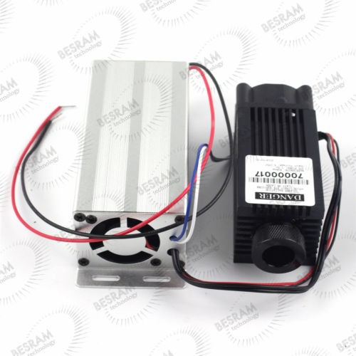3380 3.2W 4W 980nm Infrared Dot  Focusable Laser Module 12VDC w/TTL