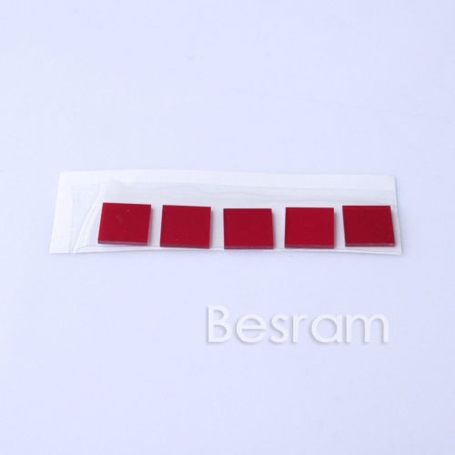 5X Glass IR Filter Lens High transmittance f638nm 650nm 660nm Orange Red Laser