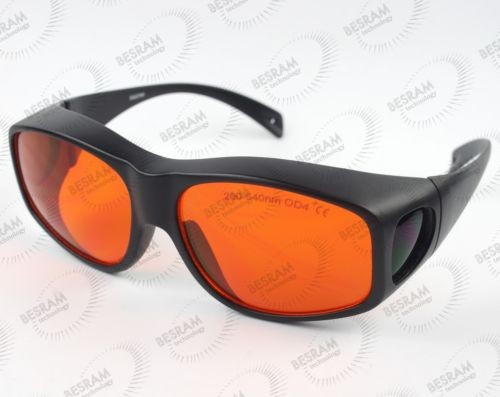 EP-3-9 CE 190-540nm OD4+ Laser Protective Glasses