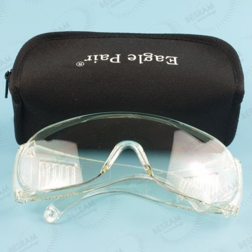 EP-9-6 190-400nm UV  OD4+ Laser Protective Safety Glasses Goggles CE T=90%