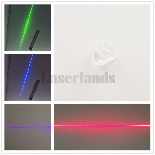 K9  Laser Optical Prism Line Glass Lens Powell Lens 9mm