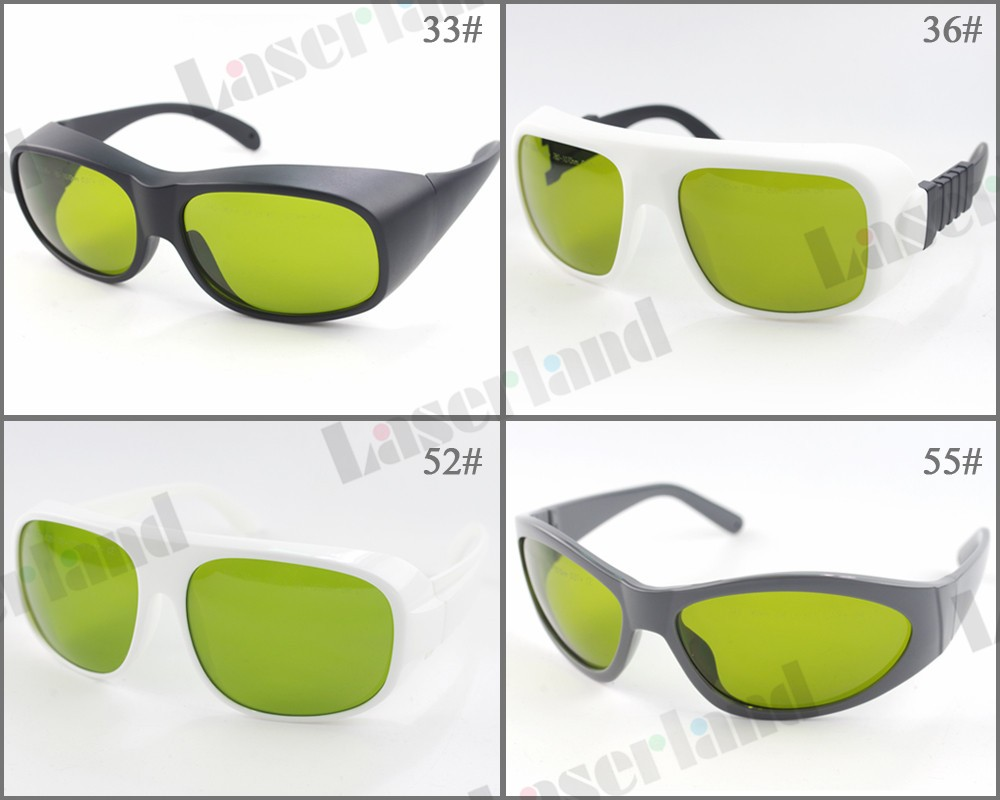 LP-ADY 740nm-1100nm OD5+ 780nm-1070nm OD7+ Laser Protective Goggles Safety Glasses