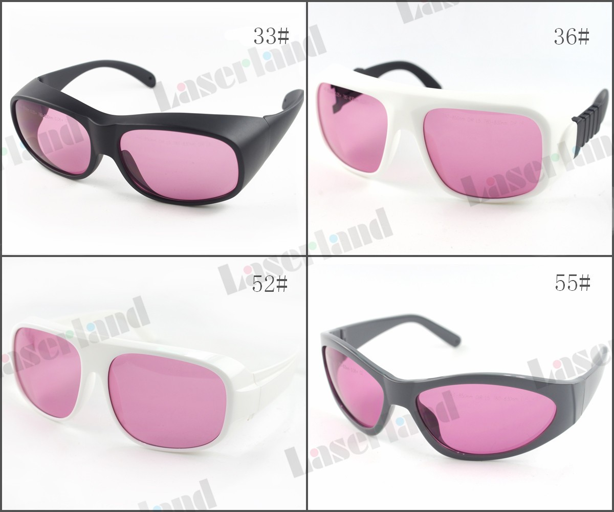 LP-ATD 740nm-850nm OD5+ 780nm--830nm OD6+ Laser Protective Goggles Safety Glasses CE