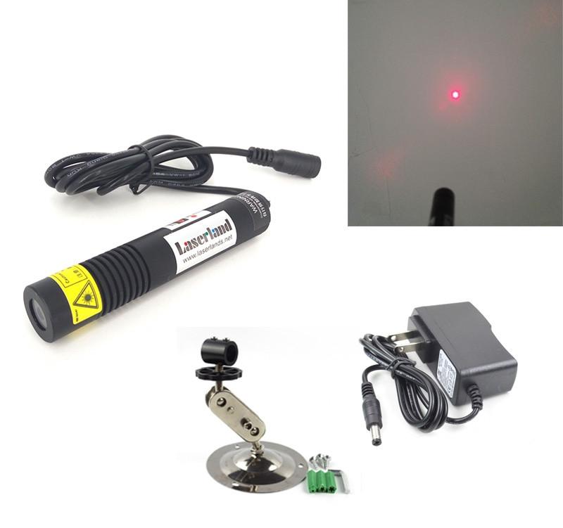18*100mm Waterproof 650nm 50mW 100mW Red Dot Laser Module