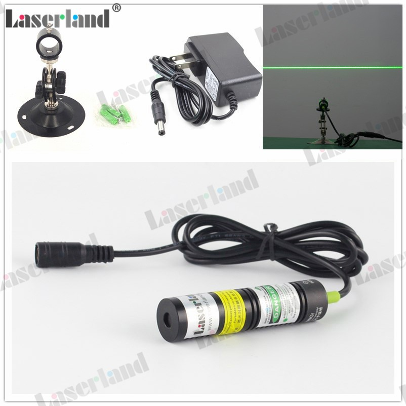 18*75mm 532nm 10mW 20mW 30mW 50mW Green Line Laser Module Locator