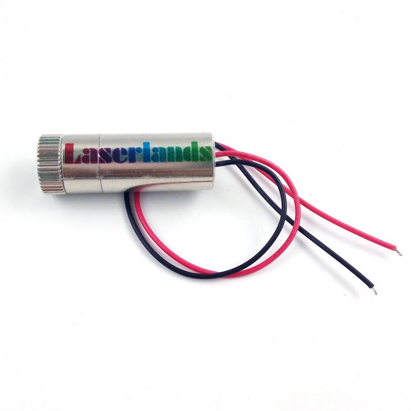 12*35mm 850nm 3.5mW 7mW 10mW 30mW 60mW Dot Focusable Laser Module Rectangle Dot