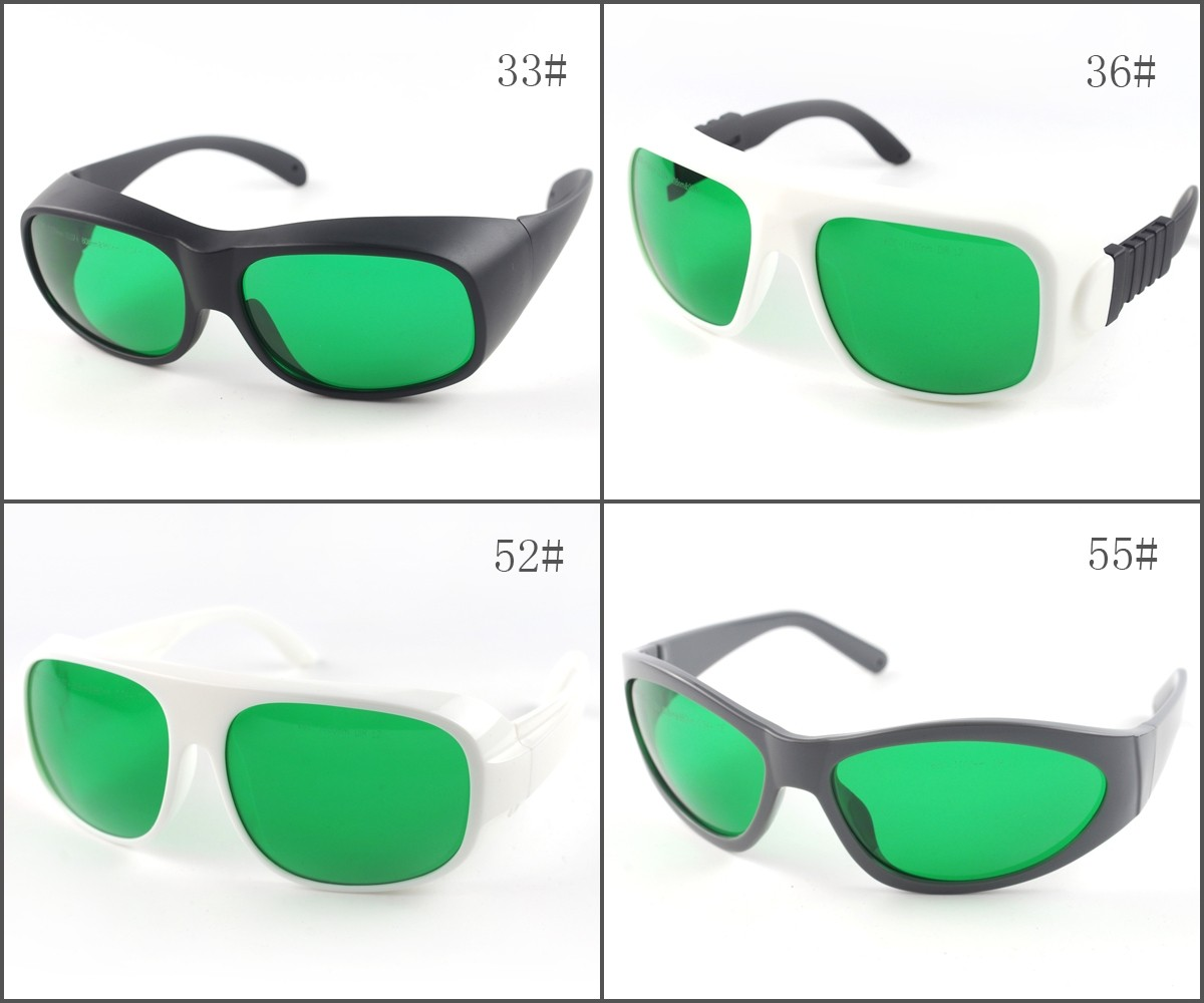 LP-RTD-2 600nm-1100nm OD2+ 808nm 980nm OD4+Laser Protective Goggles Safety Glasses CE