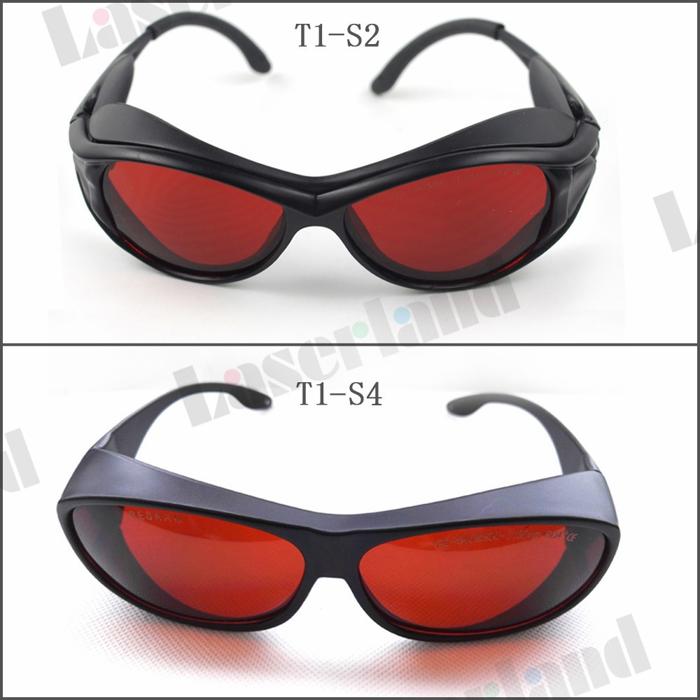 SK-1 190-540nm&800-1100nm OD4+ Green+IR Laser Protective Goggles Safety Glasses CE