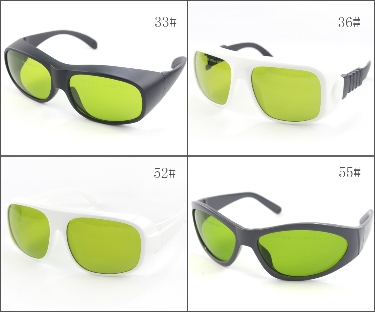 LP-YHP 800nm-1100nm OD5+ 1060nm-1070nm OD7+ Laser Protective Goggles Safety Glasses
