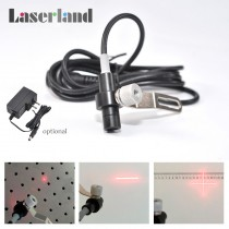 1030 635nm 10mw Red Laser Dot Module for Locating Punching Bench Drilling Machine with clamp