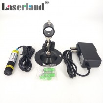 16*68mm 780nm 100mW Infrared Line Focusable Laser Module Glass Lens