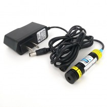 16*68mm 830nm 300mW Infrared Laser Module Rectangle Dot  Focusable