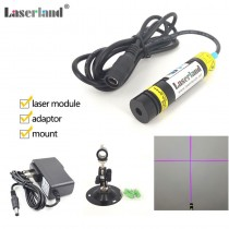 16*68mm 405nm 20mW Cross Foucsable Laser Module