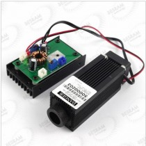 Focusable 450nm 445mW 3.5W Blue Laser Diode Module w /TTL for Engraving Cutting