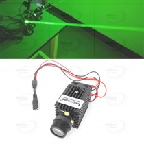 532nm 50mW Fat Beam Green Dot Laser Module 3VDC + Fan + Mount
