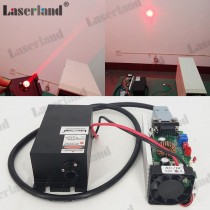 39103 1W 2w 638nm Orange Red Dot Laser Module 12VDC Fan