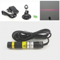16*88mm 650nm 50mW 100mW 150mW Red Line Laser Module Focusable Glass Lens