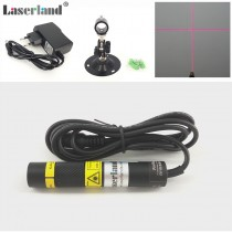 16*88mm 650nm 50mW 100mW 150mW Red Cross Laser Module Focusable Glass Lens
