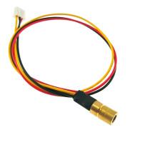 08*13 780nm 1mW Infrared Diode Laser Module Diameter 8mm 5V TTL 10kHz