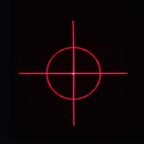 5pcs cross target DOE Diffraction gratings