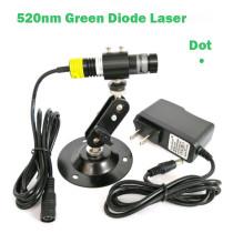 1668 510nm 515nm 520nm 10mW 30mW 80mw Dot Green Laser Diode Module