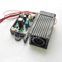 3258 520nm 50mW Green Dot Laser Module TTL Analog 12V OSRAM LD