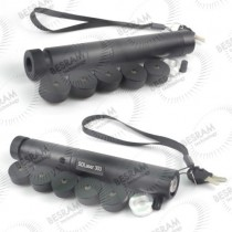 Case/Housing/Host for 5 in 1 Laser Pointer/Torch GD-303 Type with 5 Star Caps