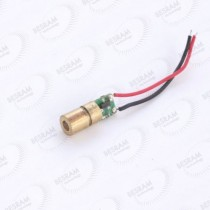 5pcs 6*16.5mm 638nm 650nm Red Dot 5mW Laser Module