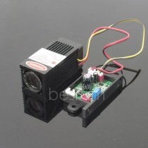 3258 Fat beam 150mW 200mW 650nm Red Dot Focusable Laser Module TTL