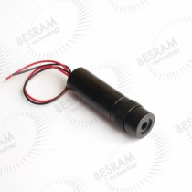 16*56mm 650nm 5mW 30mW Red Round DOT Focusable Laser Module Glass Lens 5VDC