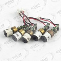 5pcs 8*14mm 650nm 1mW Red Dot Laser Module EU Standard HLM0812-650-1.0-3.2