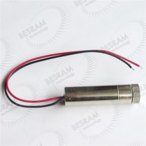 12*45mm Focusable 808nm 300mW Laser Dot/Cross/Line Module Glass Lens